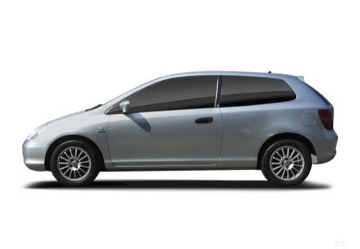 HONDA Civic IV hatchback boczny lewy