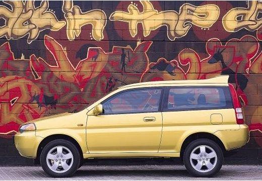 HONDA HR-V kombi żółty boczny lewy