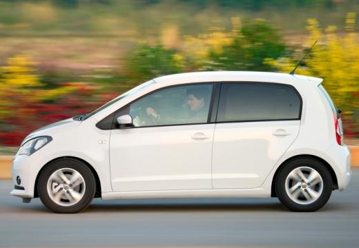 SEAT Mii I hatchback biały boczny lewy