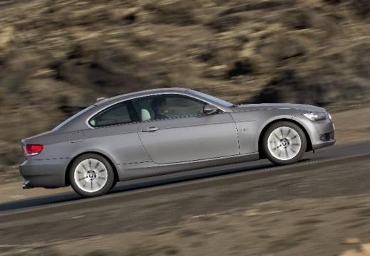 BMW Seria 3 E92 I coupe silver grey boczny prawy