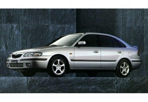MAZDA 626 hatchback silver grey przedni lewy