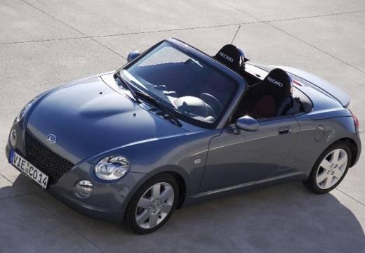 DAIHATSU Copen roadster silver grey przedni lewy