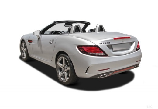 MERCEDES-BENZ Klasa SLK SLC R 172 roadster tylny lewy