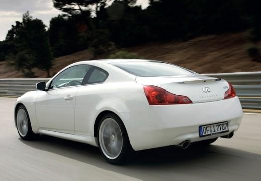 INFINITI G37 coupe biały tylny lewy