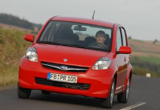 SUBARU Justy hatchback czerwony jasny przedni lewy