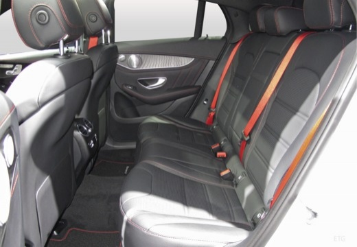 MERCEDES-BENZ Klasa GLC GLC Coupe C 253 I hatchback wnętrze