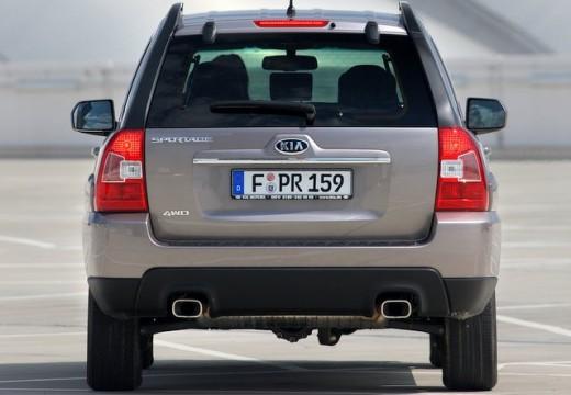 KIA Sportage IV kombi silver grey tylny