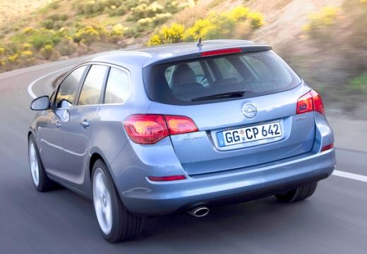 OPEL Astra IV ST I kombi silver grey tylny lewy