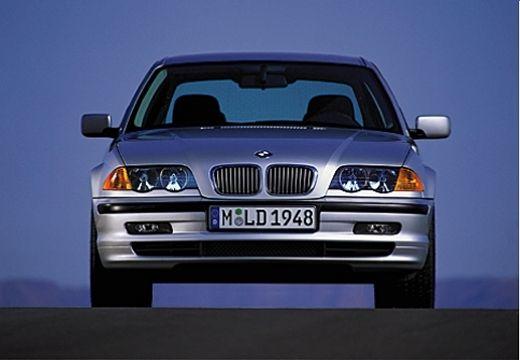 BMW Seria 3 E46 sedan silver grey przedni
