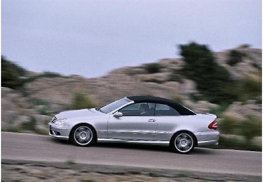 MERCEDES-BENZ Klasa CLK CLK Cabriolet A 209 II kabriolet silver grey boczny lewy