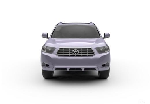 Toyota Highlander kombi przedni