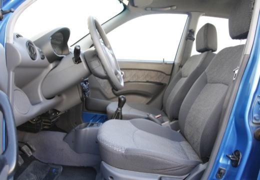 HYUNDAI Atos hatchback niebieski jasny wnętrze