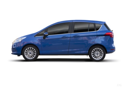 FORD B-MAX hatchback boczny lewy