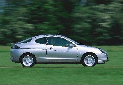 FORD Puma coupe silver grey boczny prawy