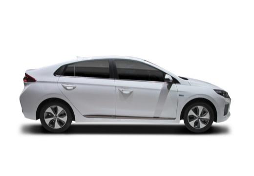 HYUNDAI Ioniq hatchback boczny prawy