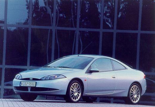 FORD Cougar I coupe silver grey przedni prawy