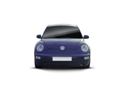 VOLKSWAGEN New Beetle I coupe niebieski jasny przedni