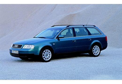 AUDI A6 /S6 Avant 4B I kombi zielony przedni lewy
