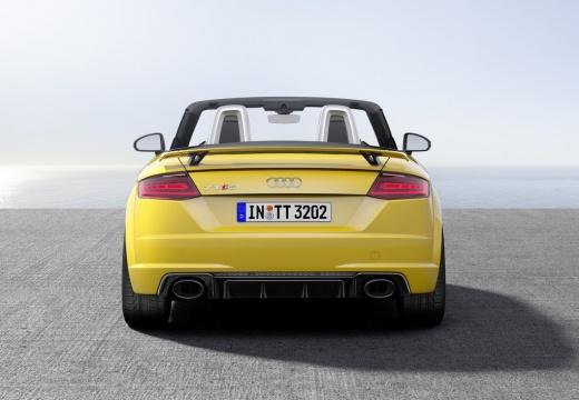 AUDI TT III roadster żółty tylny