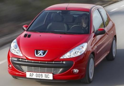 PEUGEOT 206+ hatchback czerwony jasny