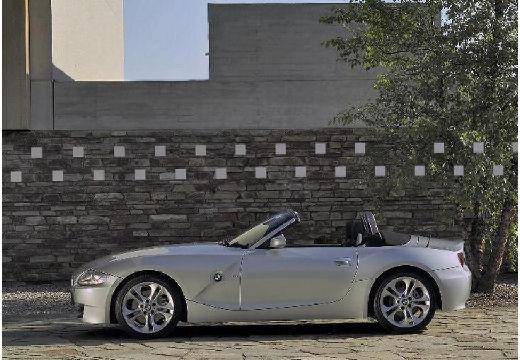 BMW Z4 E85 II roadster silver grey boczny lewy