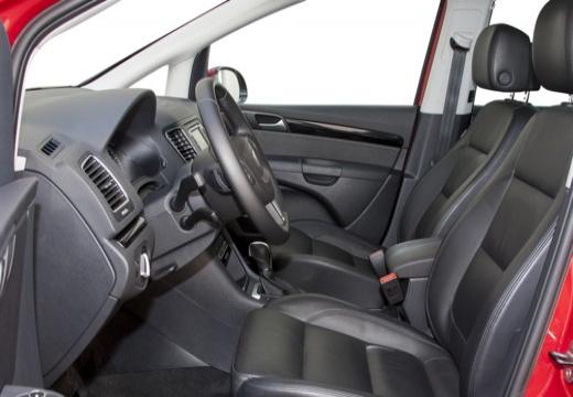 SEAT Alhambra IV van wnętrze