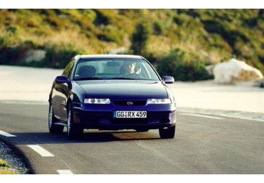 OPEL Calibra coupe fioletowy przedni prawy