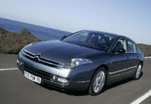 CITROEN C6 sedan silver grey