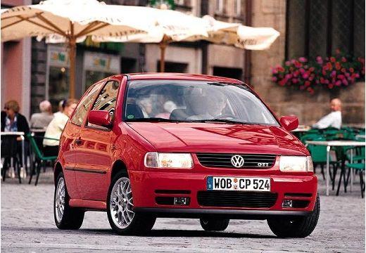 VOLKSWAGEN Polo III I hatchback czerwony jasny przedni prawy