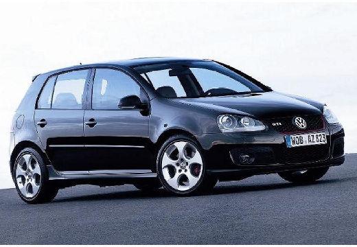 VOLKSWAGEN Golf V hatchback czarny przedni prawy