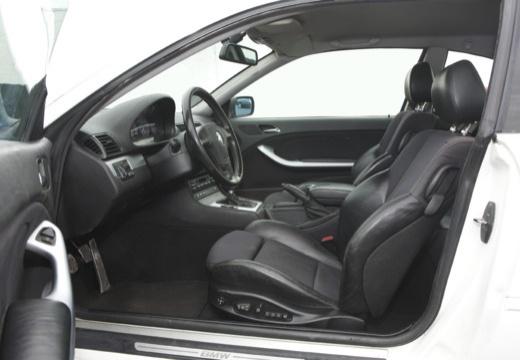 BMW Seria 3 coupe biały wnętrze