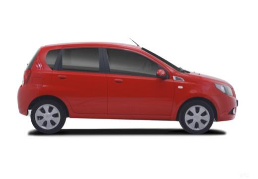 CHEVROLET Aveo II hatchback boczny prawy