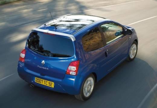 RENAULT Twingo IV hatchback niebieski jasny tylny prawy
