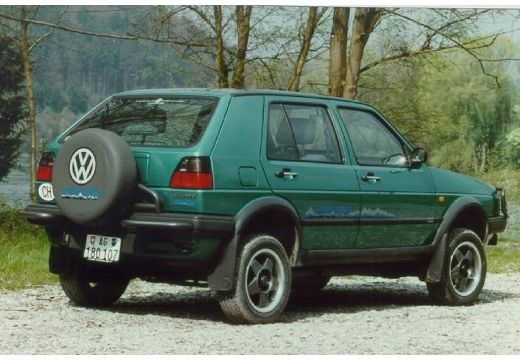 VOLKSWAGEN Golf 1.8 Syncro Country Hatchback II 98KM (benzyna)