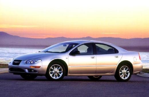 CHRYSLER 300 M I sedan silver grey przedni lewy