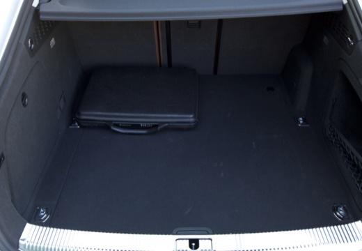 AUDI A5 hatchback przestrzeń załadunkowa