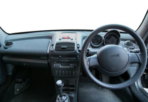 SMART Roadster I roadster czarny tablica rozdzielcza