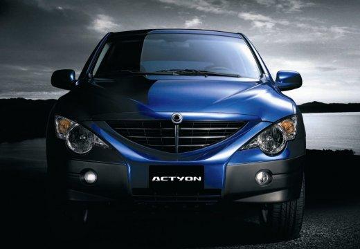 SSANG YONG Actyon hatchback niebieski jasny przedni