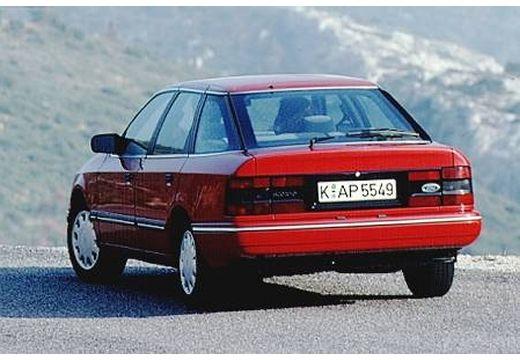 FORD Scorpio II hatchback czerwony jasny tylny lewy