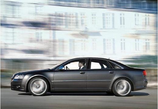 AUDI A8 4E I sedan szary ciemny boczny lewy