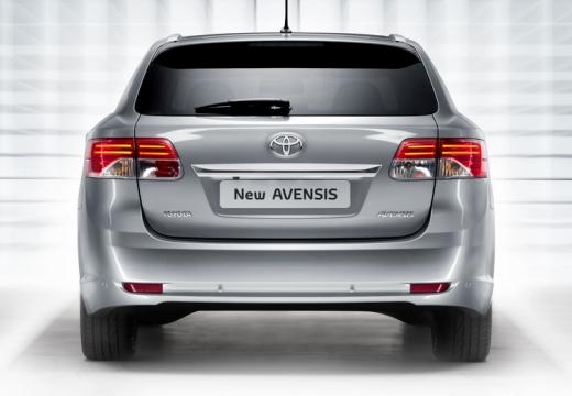Toyota Avensis VI kombi silver grey tylny