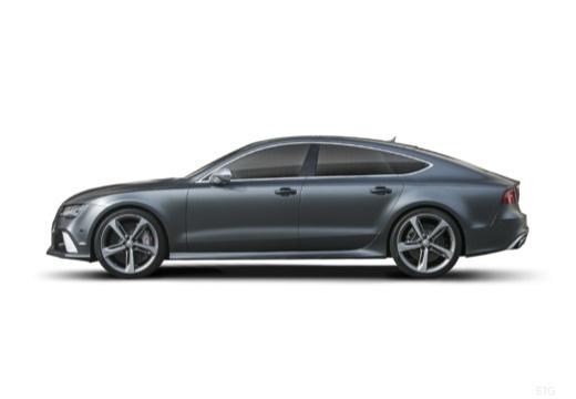 AUDI A7 Sportback I hatchback boczny lewy