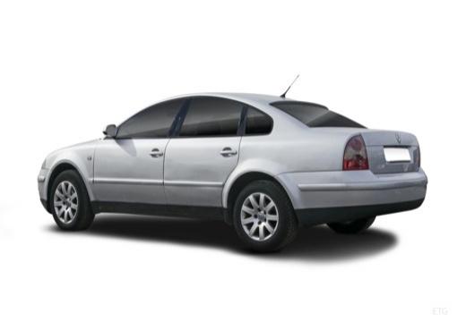 VOLKSWAGEN Passat IV sedan silver grey tylny lewy