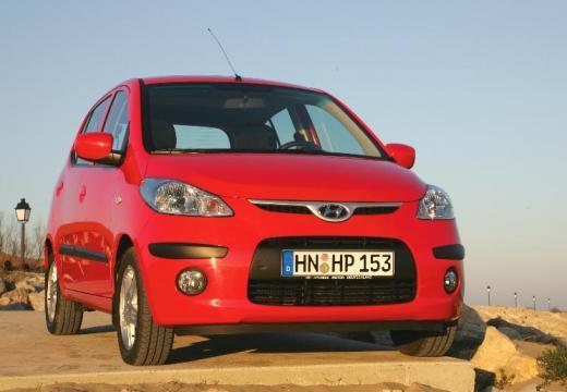 HYUNDAI i10 I hatchback czerwony jasny przedni prawy