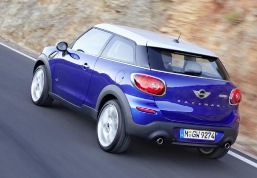 MINI [BMW] Paceman hatchback niebieski jasny tylny lewy