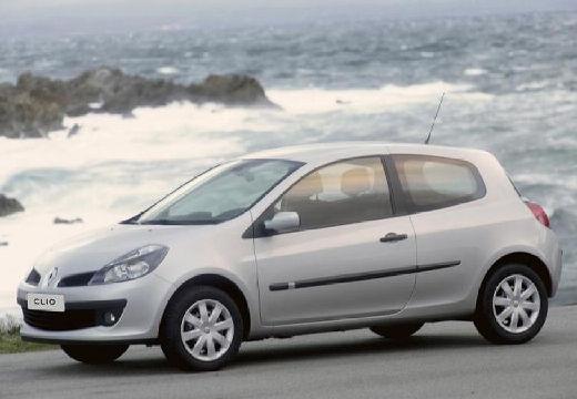 RENAULT Clio III I hatchback silver grey przedni lewy