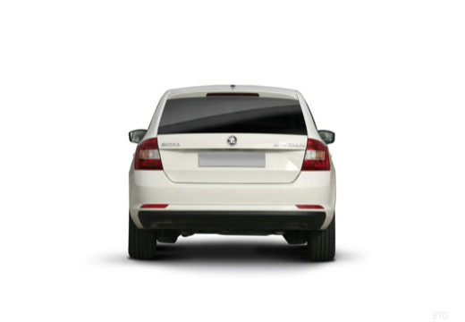 SKODA Rapid Spaceback I hatchback tylny