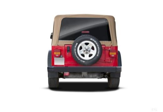 JEEP Wrangler Hardtop II soft top tylny