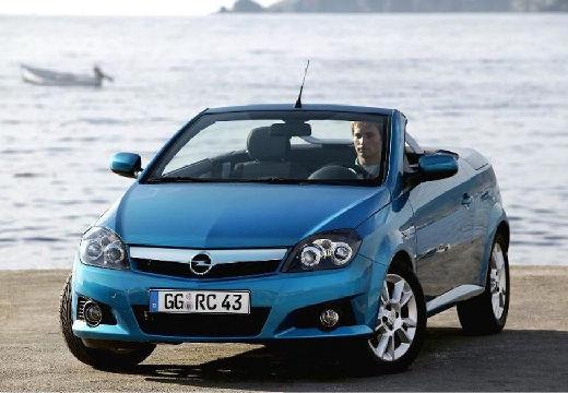 OPEL Tigra I roadster niebieski jasny przedni lewy