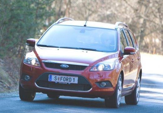 FORD Focus IV kombi czerwony jasny przedni lewy
